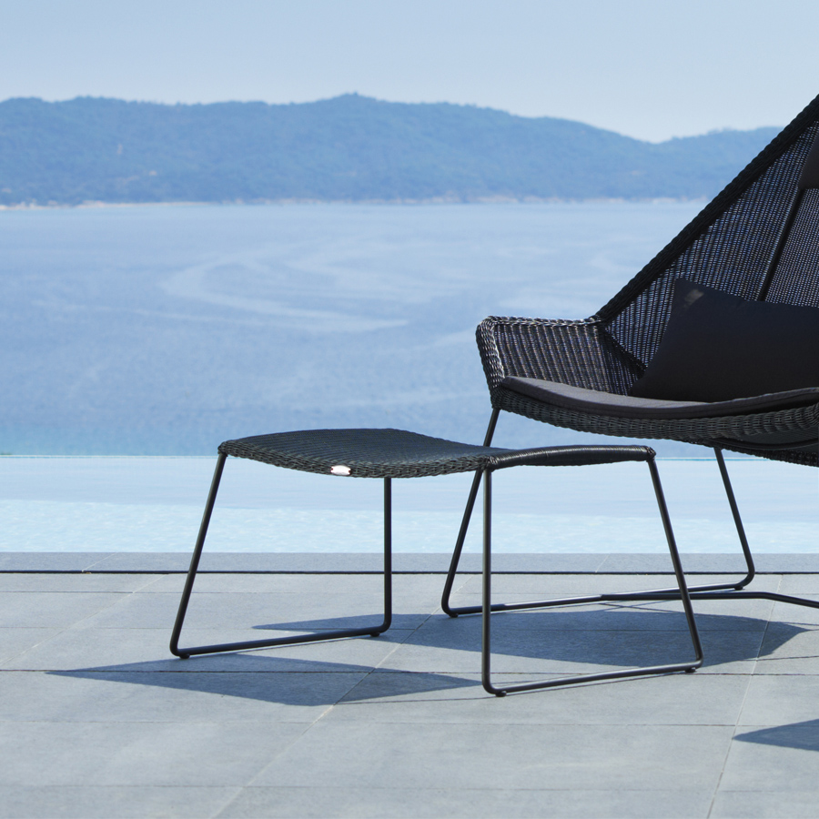 Breeze Footstool by Cane-line - WGU Design Outdoor Collection