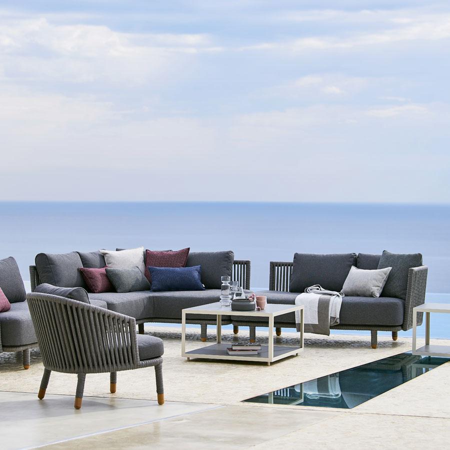 MOMENTS Modular Sets WGU Design Cane-line Outdoor Furniture